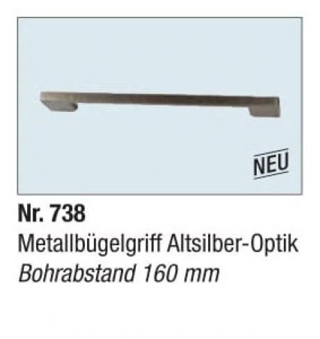 Metallbugelgriff Altsilber Optik