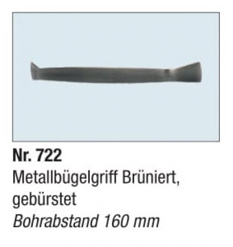 Metallbugelgriff Bruniertgeburstet