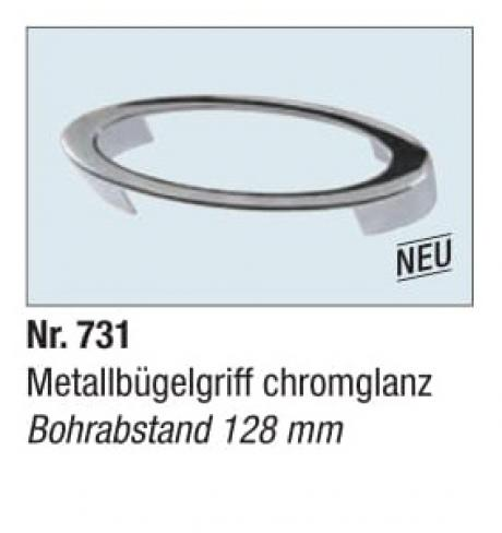 Metallbugelgriff chromglanz