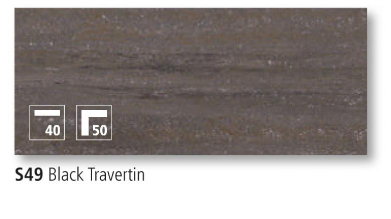 Black Travertin
