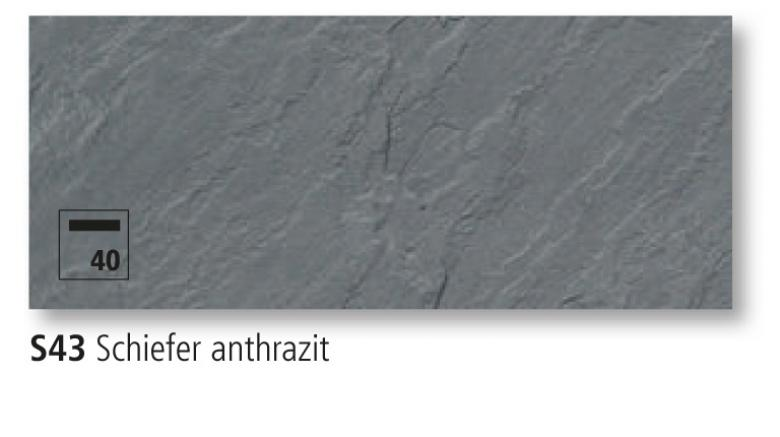 Schiefer Anthrazit