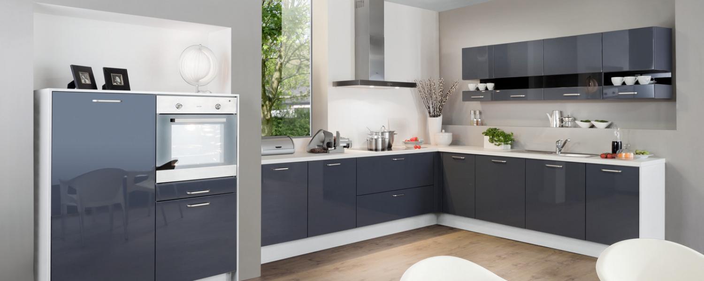Einbauküchen hochglanz  33 Gute Günstige Einbauküchen | Küchen Ideen