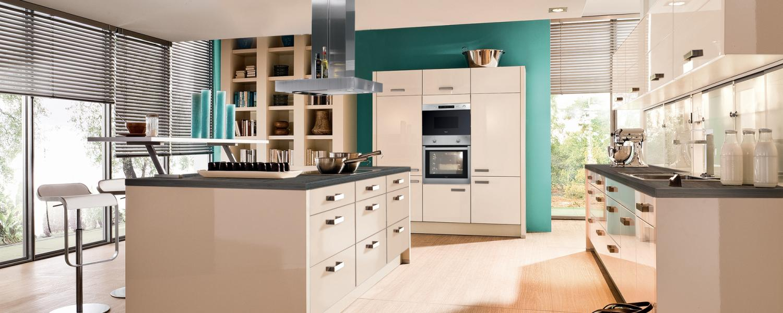 Einbauküche Mit Insel hochglanz magnolie mit insel ihr küchenpartner holger baake