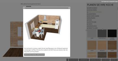Küche online planen mit dem Design@Web 3D Küchenplaner » Ihr ...