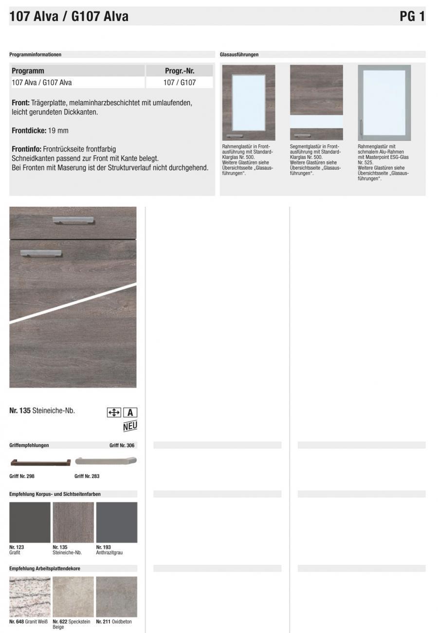 Wellmann küchen fronten  Wellmann Fronten Preisgruppe 1 » Ihr Küchenpartner Holger Baake ...